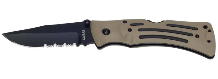 Klappmesser KA-BAR Desert Mule Folder Serrated