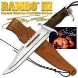 Sammlermesser Rambo III - Sylvester Stallone Signature