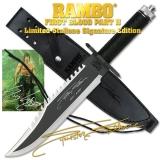 Survivalmesser Rambo II - Der Auftrag - Sylvester Stallone Signature