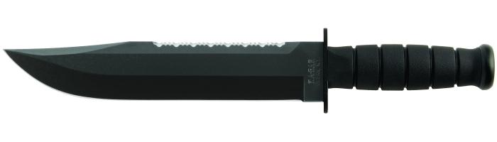 """Das KA-BAR 2211 Big Brother Messer in der """"modernen"""" Version mit schwarzem Kraton G® Griff"""